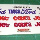 Hubert Platt TASCA Ford Mustang Drag Car 1:25