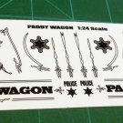 Paddy Wagon Black 1:24 Scale