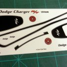 1971 Dodge Charger R/T Decal Set 1:25 Black