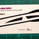 1968-72 Dead/Hooker Nova 1:25 Black