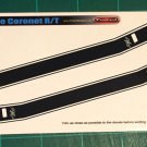 1969 Dodge Coronet R/T Decal Set 1:24 Scale Black