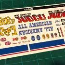 1957 T-Bird Gasser Decal Set 1:25