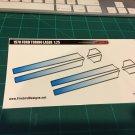 1970 Ford Torino Laser Stripe - Blue 1:25 scale