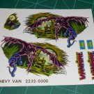 Vanpire Chevy Van Decal Set 1:24 Scale
