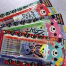 Fashion Tattoo Pens 8 color Glitter Gel Ink Refill Cores Temporary Washable 1 pc