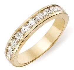 14k Diamond Band Ring 1.00 ctw