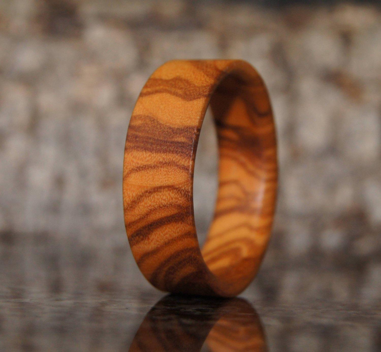Olive wood ring - US Size 11 3/4