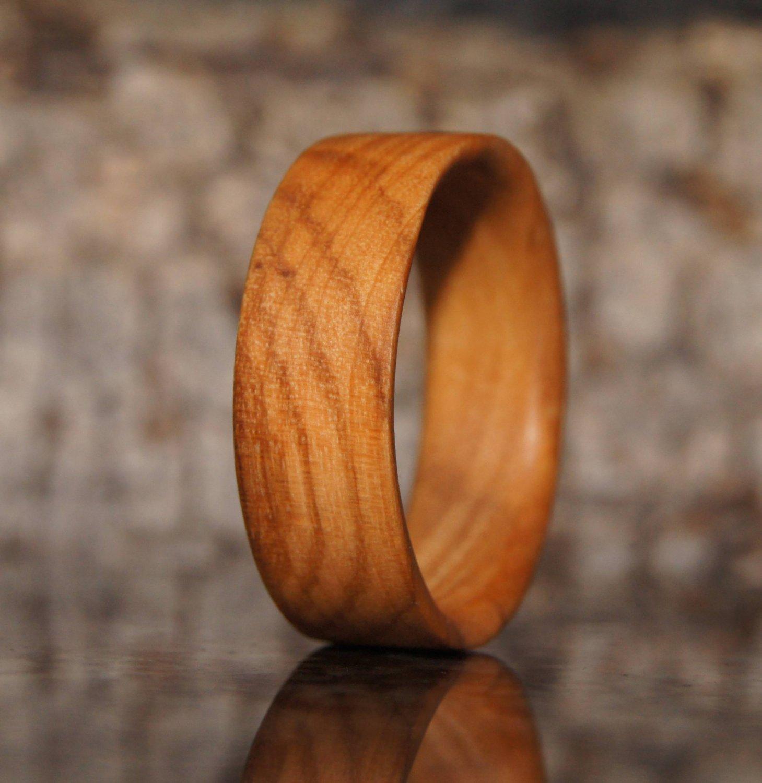 Olive wood ring - US Size 12