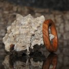 Olive Wood Ring Size 8, Wood Ring