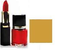 Lipstick/Nail Polish Combo - Gold