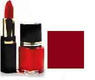Lipstick/ Nail Polish Combo - Cinnabar