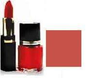 Lipstick/ Nail Polish Combo - Creamy Mauve