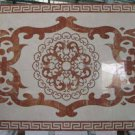"Home Decor Waterjet Cut Marble Floor/Wall Medallion 40""x 60"" Granite Back"