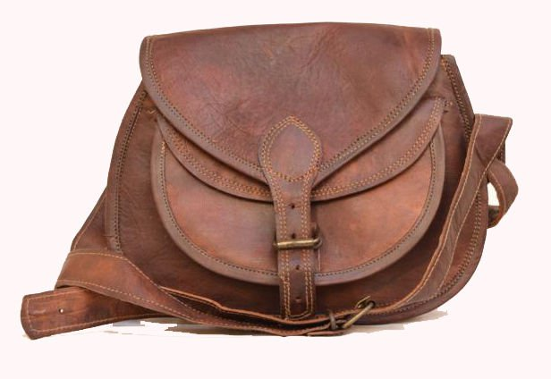 Retro Original Handmade Animal Leather Bag, Woman Girls Purse Pure Leather #144