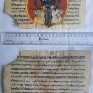 Original Antique Old Manuscript Jain Cosmology New Hand Painting Rare India #575