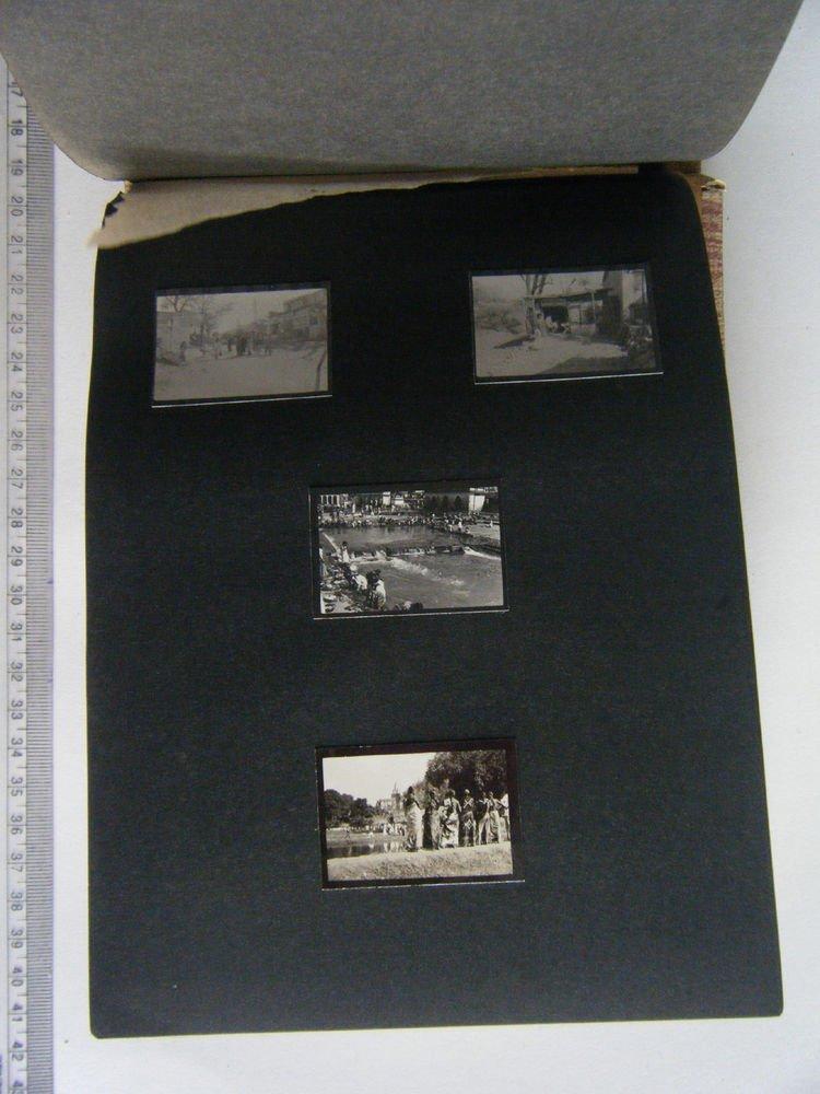 Indian Photograph Album, Antique Vintage Photographs Rare Small Pictures #305