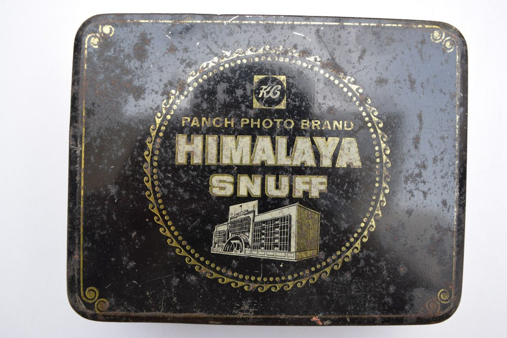 Old Sweets Tin Box, Rare Collectible Litho Printed Tin Boxes India #1344
