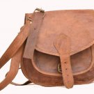 Handmade Natural Leather Satchel Bag