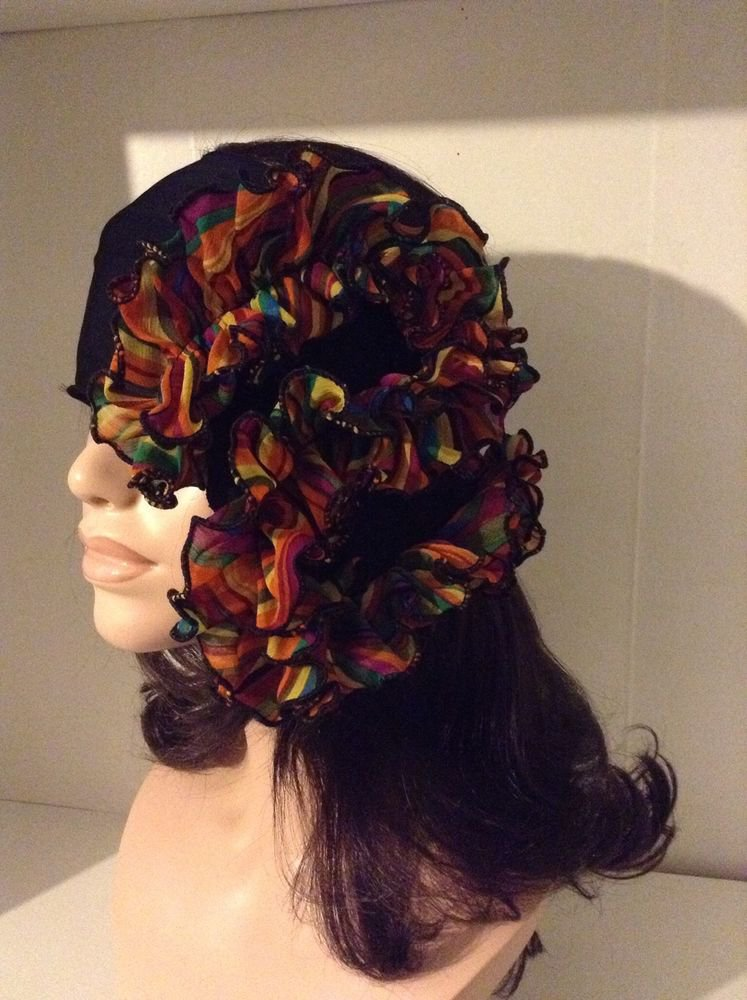 Flower Headband Shirt Collard Fashion Accessory MULTI Use