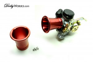 """Carbuerator Velocity Stack 3"""" RED"""