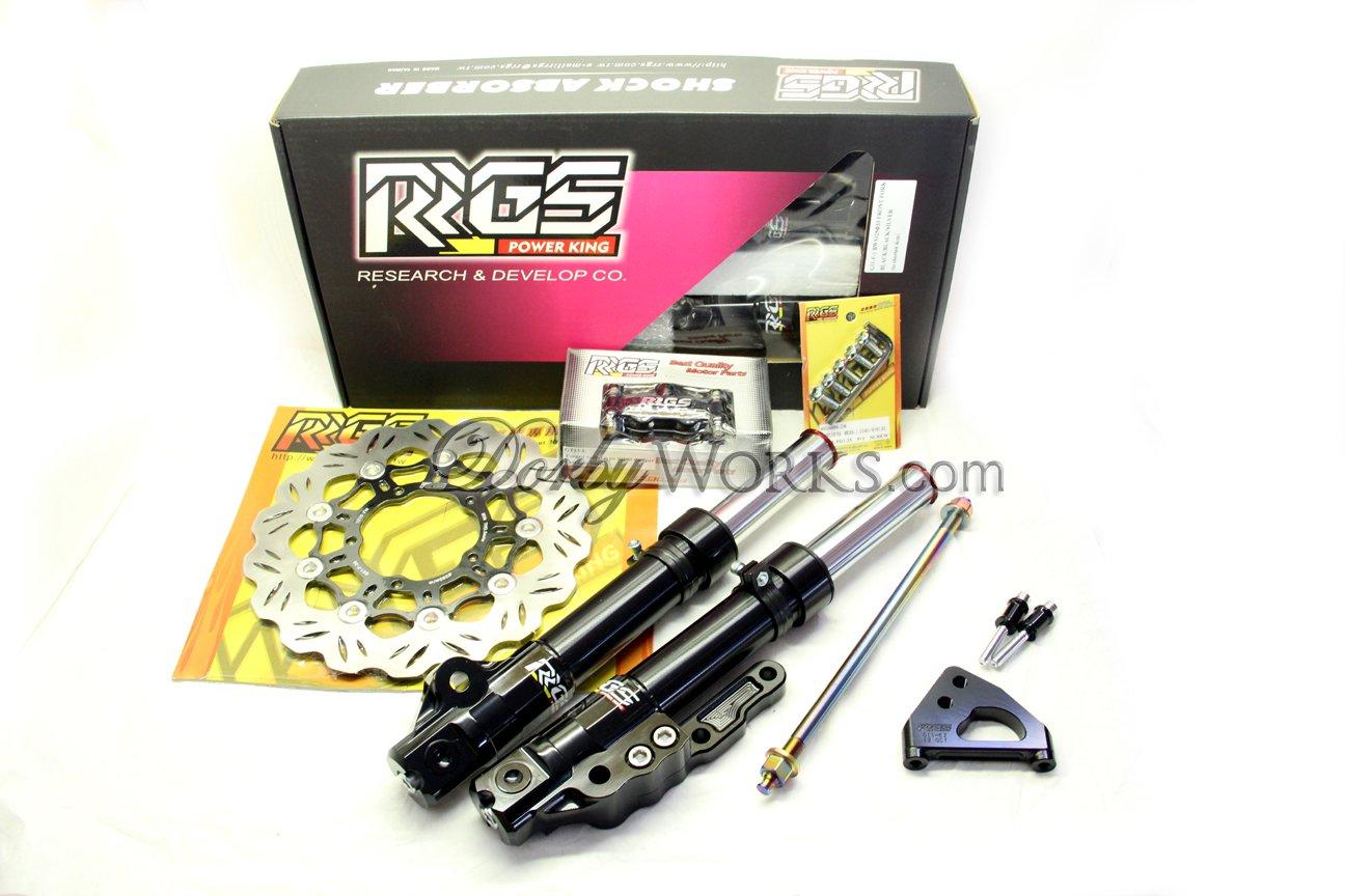 ZUMA 125 RRGS Front suspension brake upgrade kit