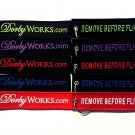 DORBYWORKS Remove before flight key chain