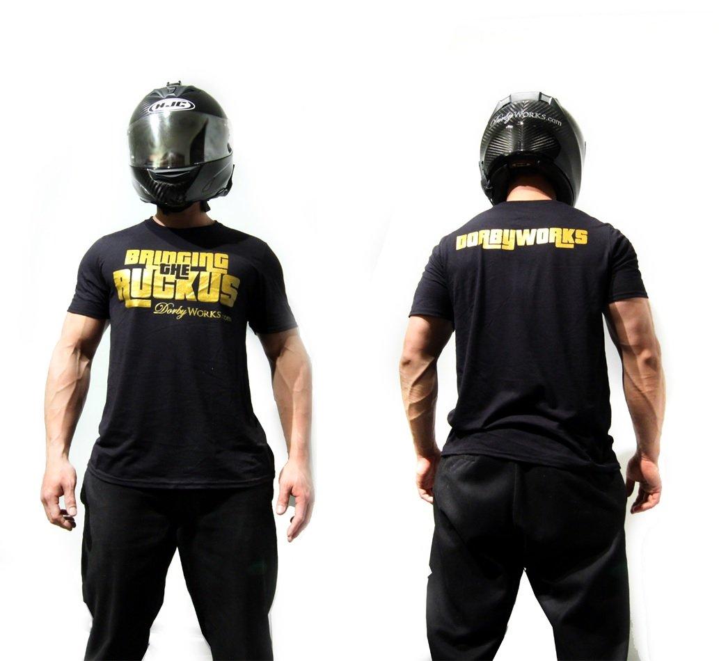 Dorbyworks HONDA RUCKUS SHIRT Performance GOLD / black shirt - medium