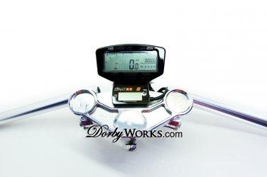 Honda Ruckus Stainless Gauge mount Speedometer / fuel meter stainless