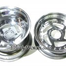HONDA RUCKUS DW5RS billet 2 PIECE WHEEL  - SET 12x4 / 12x8