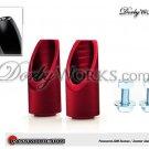 Honda Ruckus PWJDM foot pegs RED billet