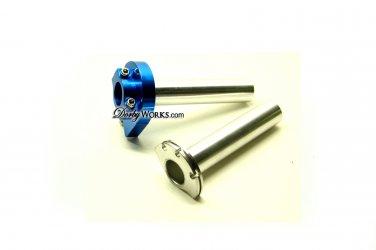 Blue quick throttle BILLET Honda Ruckus