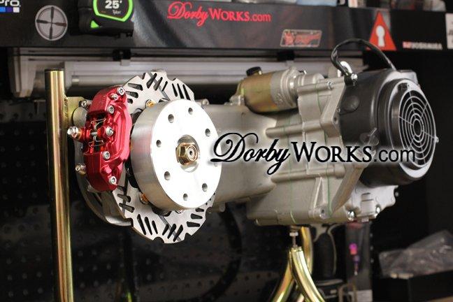 RRGS GY6 Rear disc brake kit Honda ruckus