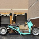 "Honda Ruckus MESH LOVE  12"" FRONT / 13"" REAR / TIRES mounted"
