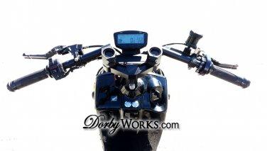 Honda Ruckus Black Billet Adjustable HANDLE BARS