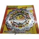RRGS 260MM FLOATING ROTOR black/orange