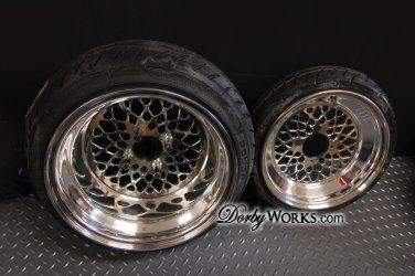Honda Ruckus Wheels Rim Set SUPER MESH /  12x4 / 12x7 FITMENT GY6 or GET