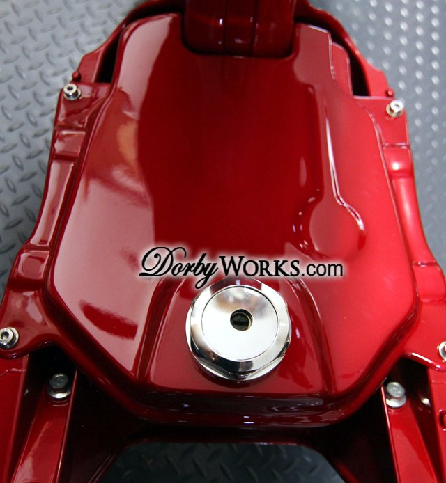 Honda Ruckus Billet GAS CAP COVER