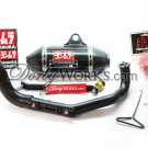 GY6 YOSHIMURA Carbon fiber exhaust system CERAMIC COATED