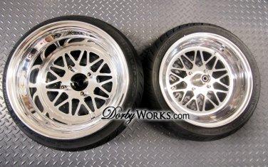 Honda Ruckus wheels ruckus rims DW MESH V2 super staggered