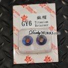 Taida GY6 Titanium Valve spring retainer