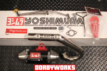 Gy6 Yoshimura Carbon fiber / Overhead  / Dorbyworks exhaust system