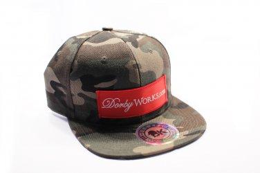 DORBWORKS Snap back hat CAMO Classic logo