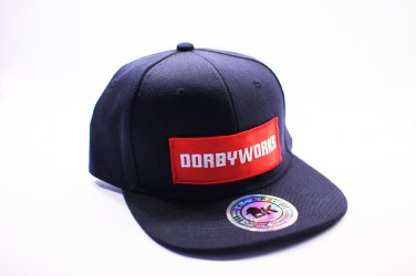 DORBWORKS Snap back hat Navy blue