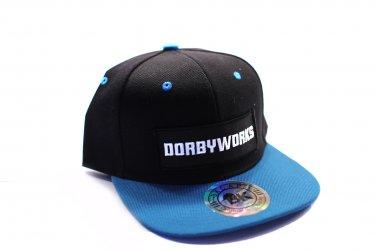 DORBWORKS Snap back hat Turquoise