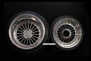 "Honda Ruckus FORMULA 12 "" front / 13 "" rear Custom billet forged wheels"
