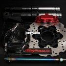 Ruckus Brake kit RED Adelin caliper