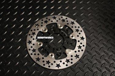 Dorbyworks Star 220mm Floating Rotor Black