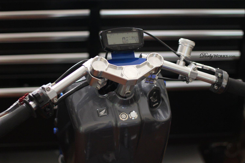 Ruckus Billet aluminum / Handle bar speedometer  PACKAGE