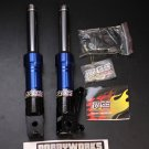 RRGS Ruckus Low Down Front Forks - BLUE BLACK