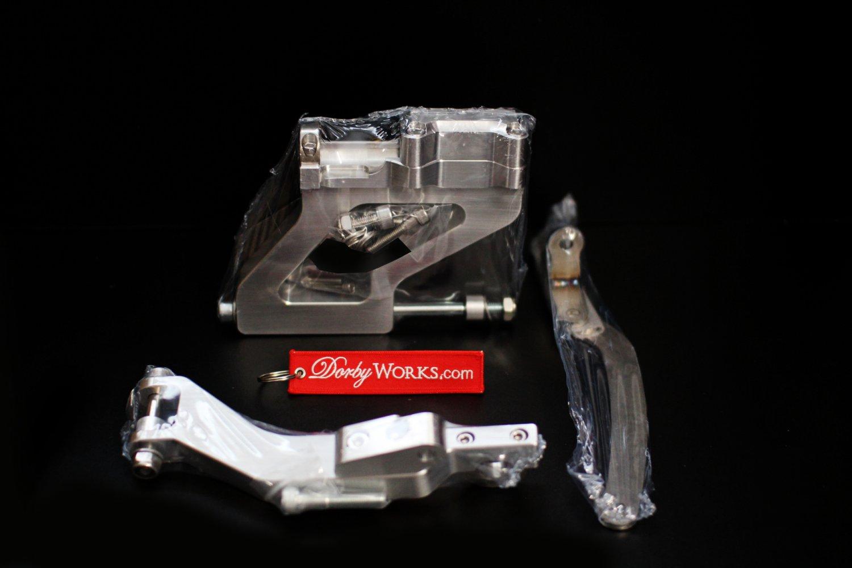 "HONDA RUCKUS 12"" Billet STRETCH MOUNT KIT FOR GY6 ENGINE FATTY  CONVERSION"